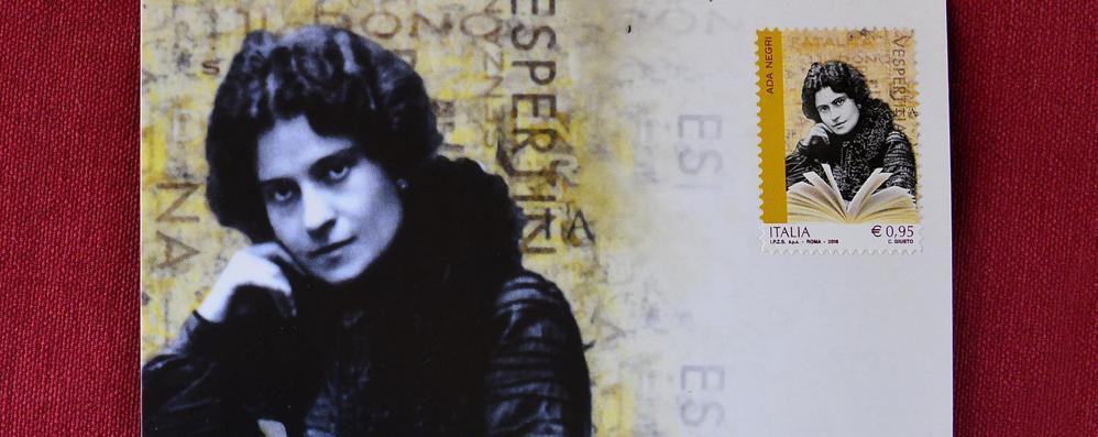 un francobollo per Ada Negri